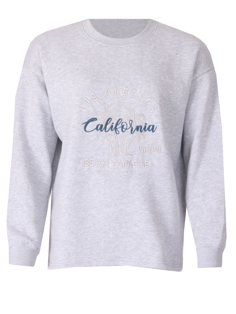 Los Angeles Sweater - Grey Marl