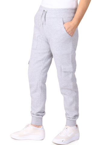 Cargo Jogging Trousers - Grey Marl