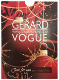 Gerard/Vogue Gift Card For Christmas