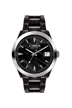K&Bros Ice Time Acetate Watch