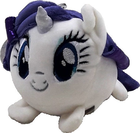 My Little Pony Cutie Plush Keyring - White