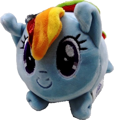 My Little Pony Cutie Plush Keyring - Blue