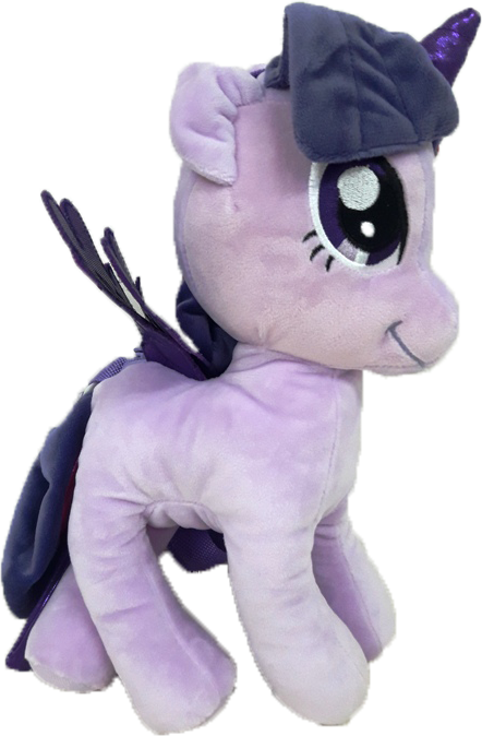 My Little Pony 3D Standing Plush Bag - Purple - Twilight Sparkle