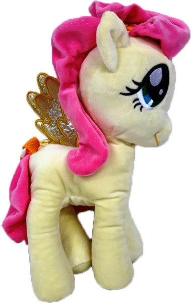 My Little Pony 3D Standing Plush Bag - Yellow