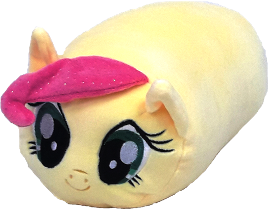 My Little Pony Mini Bolster - Yellow - Flutter Shy