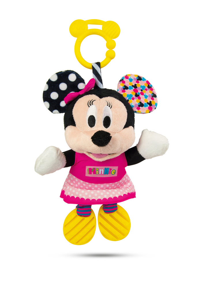 Disney Baby Minnie Activity Plush Rattle
