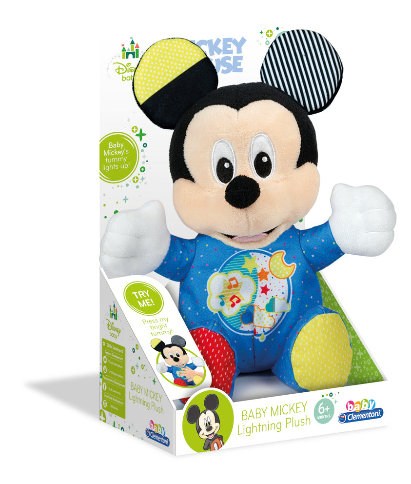 Disney Baby Mickey Lightning Plush