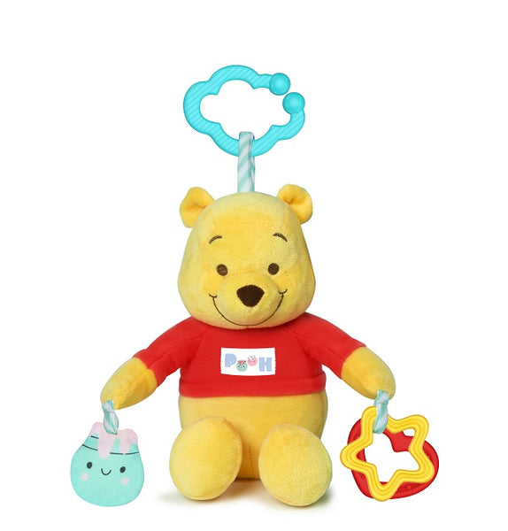 Disney Baby - Winnie The Pooh First Activities Plush Rattle