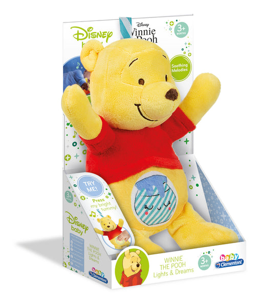Disney Baby - Winnie The Pooh Light Plush