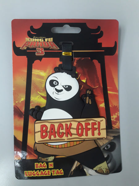 Dreamworks Luggage Tag - KungFu Panda
