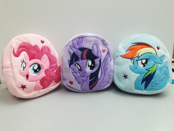 My Little Pony Plush Backpack - Purple (24cm)