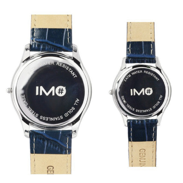 IMO The Duo Steely Blue (Couple Watch Set)