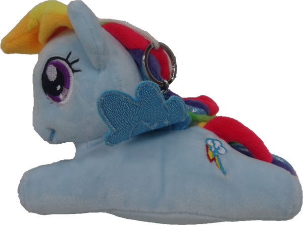 My Little Pony Plush Toy Keychain- Blue