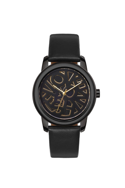 FashionTV Watch: ICON (L) (Black-Black)