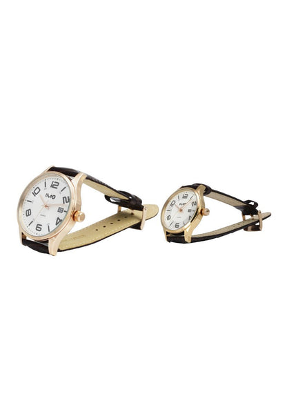 IMO The Duo Antique White (Couple Watch Set)