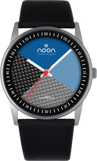 Noon Copenhagen Fashion Polish Silver Watch