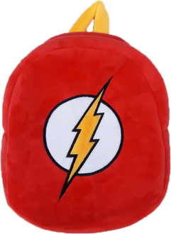 Justice League Superheros Logo Plush Backpack