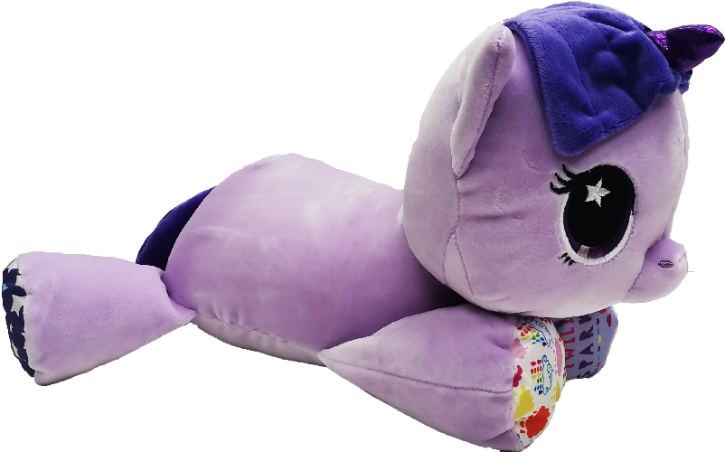My Little Pony Playskool Baby Floppy Plush Toy - Purple (Large)