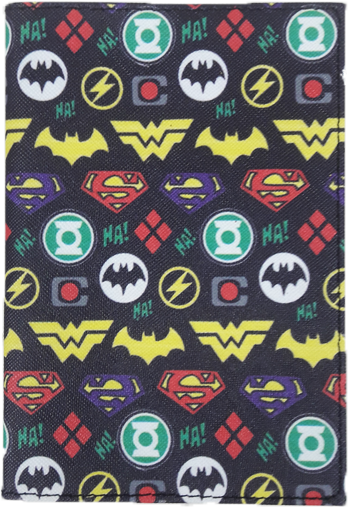 Justice League Passport Holder
