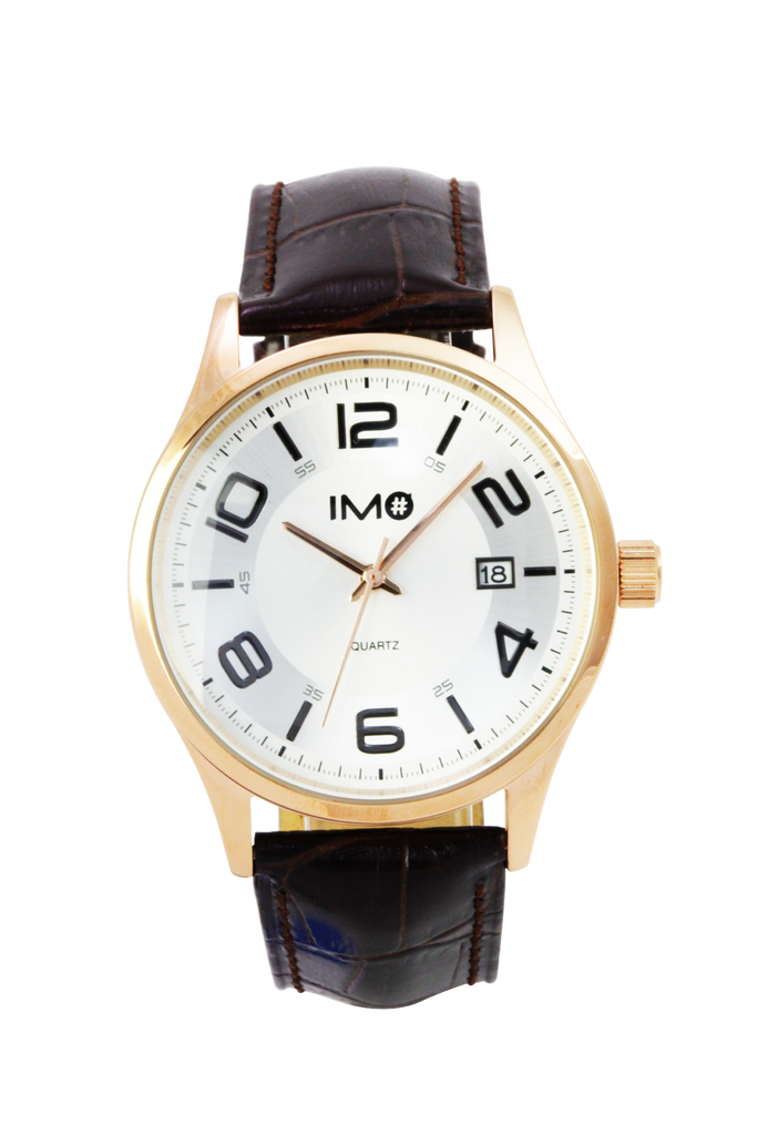 IMO THE DUO - Antique White (Man) - IMO Watch
