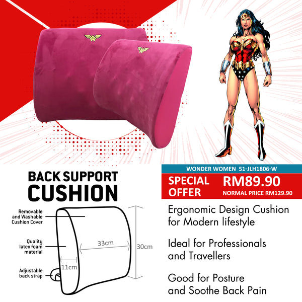 Justice League Back Support Cushion