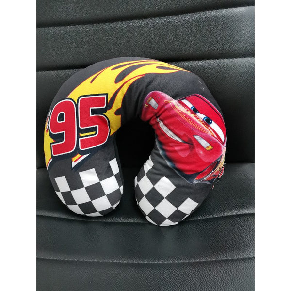 Disney Cars Neck Cushion - Black McQueen