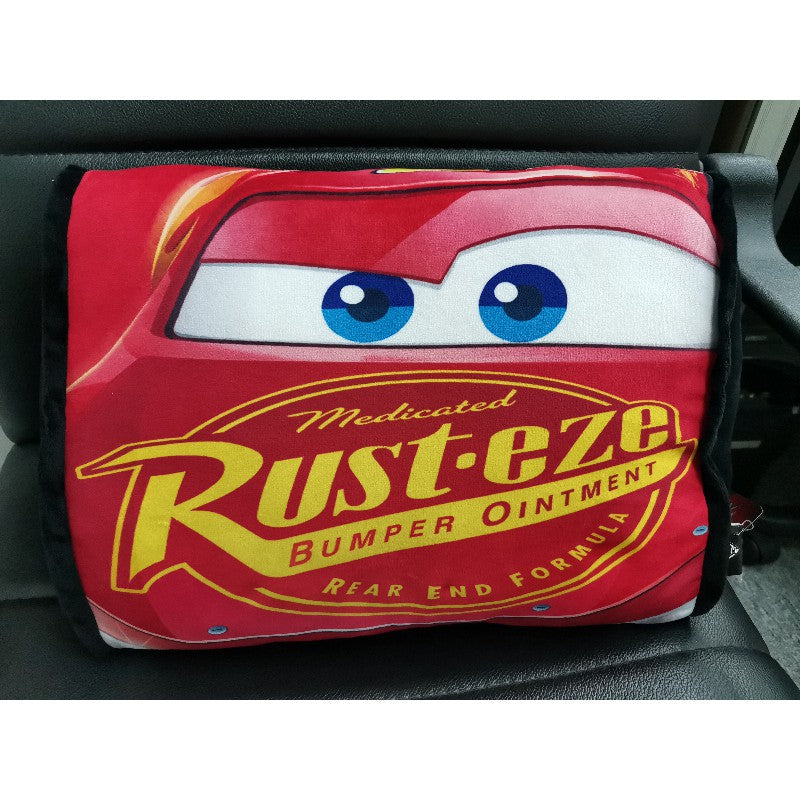 Disney Cars Rectangular Cushion – Red Rusteze McQ