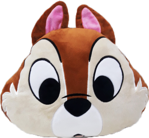 Cutie Chipmunks Face Cushion