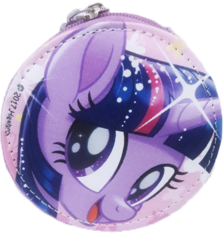 My Little Pony Round Coin Purse - Purple