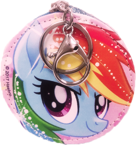 My Little Pony Round Coin Purse - Blue