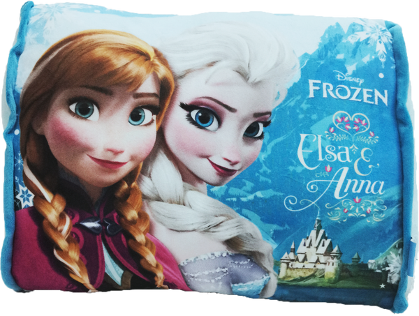 Disney Frozen Rectangular Cushion - Snow Castle