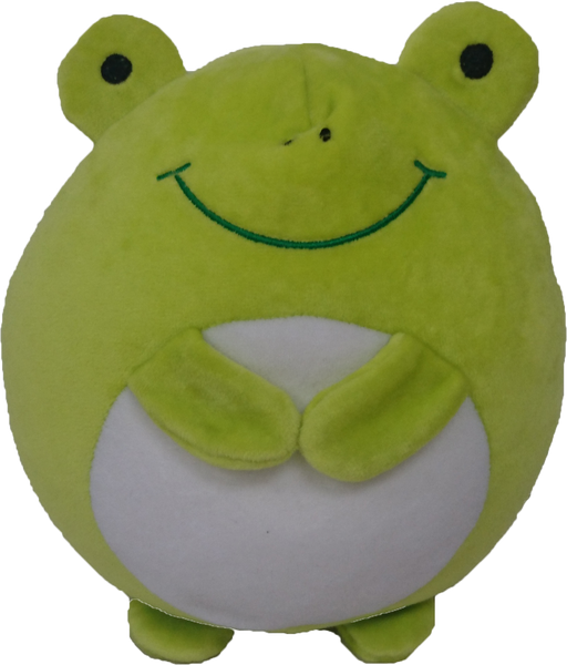 Animal Supersoft Cushion - Green Frog