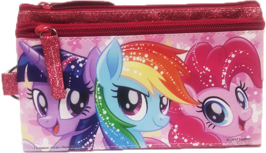 My Little Pony Dual Zipper Case - Pink