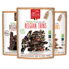 Belgian Thins - Broken Chocolates