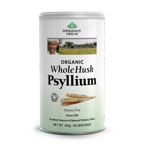Organic India Whole Husk Psyllium 340g