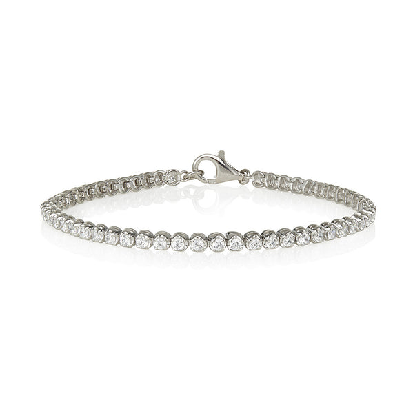 Four claw tennis bracelet (2.50ct)