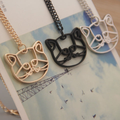Cool Cat Necklace + FREE SHIPPING!