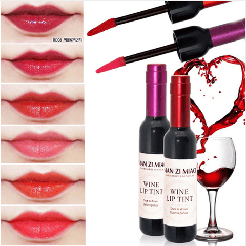 4 Colors Red Wine Stained Matte Lip Gloss