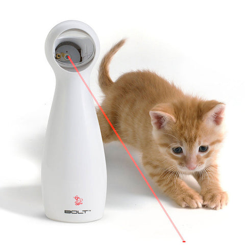 Cats Interactive Automatic Red Laser Pointer Exercise Toy