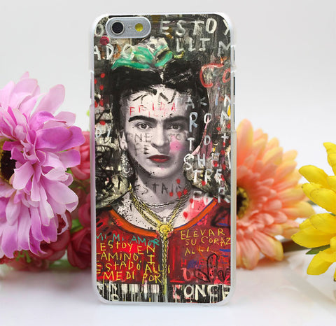 Frida Kahlo Art Design Case iPhone 6 / 6s / 6 Plus / 6s Plus + FREE SHIPPING