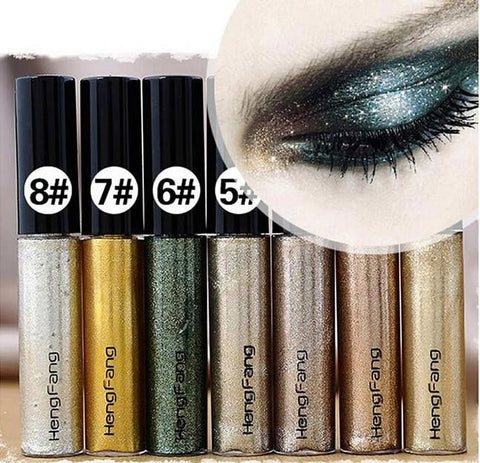 8 pcs Set EyeShadow Glitter Tube - Free Shipping!