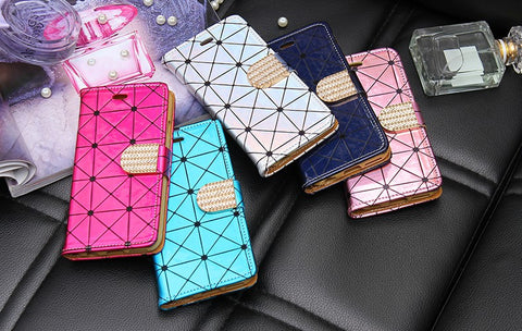 Laser Glitter iPhone Flip Cover + Free Shipping