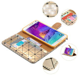 Laser Glitter Samsung Flip Cover + Free Shipping