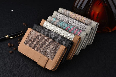 Luxury Woven iPhone Wallet + Free Shipping