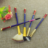 Wonder Woman inspired  Cosmetic Brush Set - FREE SHIPPING!