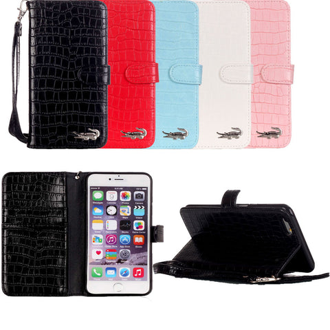 Luxury Crocodile iPhone Wallet