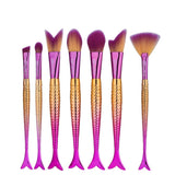Mermaid Makeup Brush sets