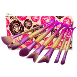 7 and 10 PCS Mermaid Makeup Brush sets+Bag- Free Shipping!