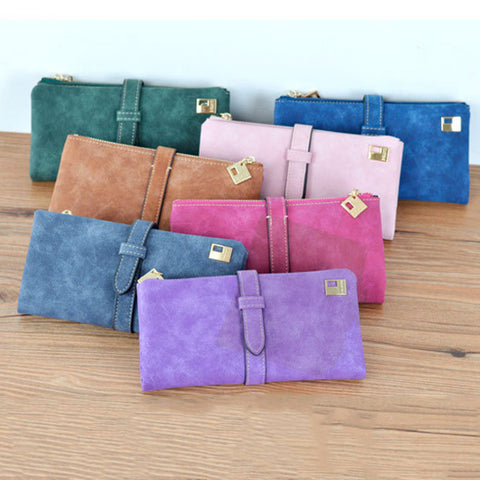 Nubuck Drawstring Women Clutch + Free Shipping SALE!