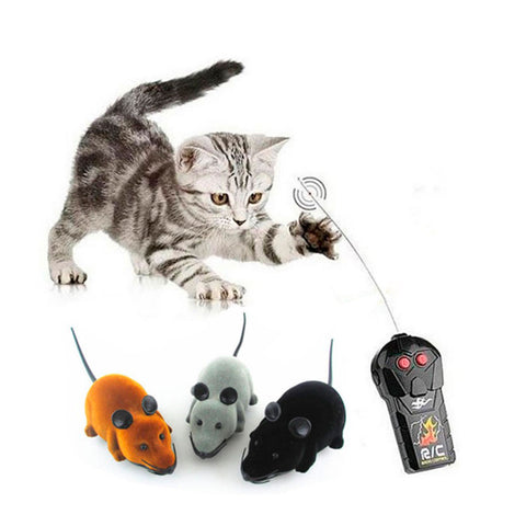 Remote Controlled Mouse Rat Toy For Cats